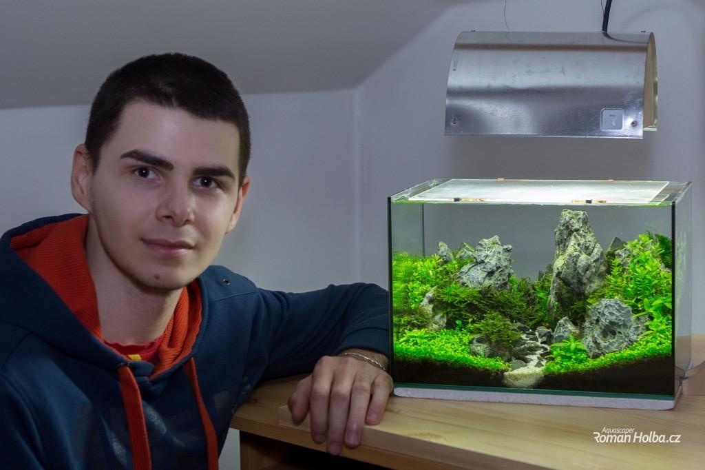 Roman Holba s vítěznou nádrží v GAPLC 2014